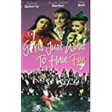 Girls Just Want to Have Fun [VHS] [Import]