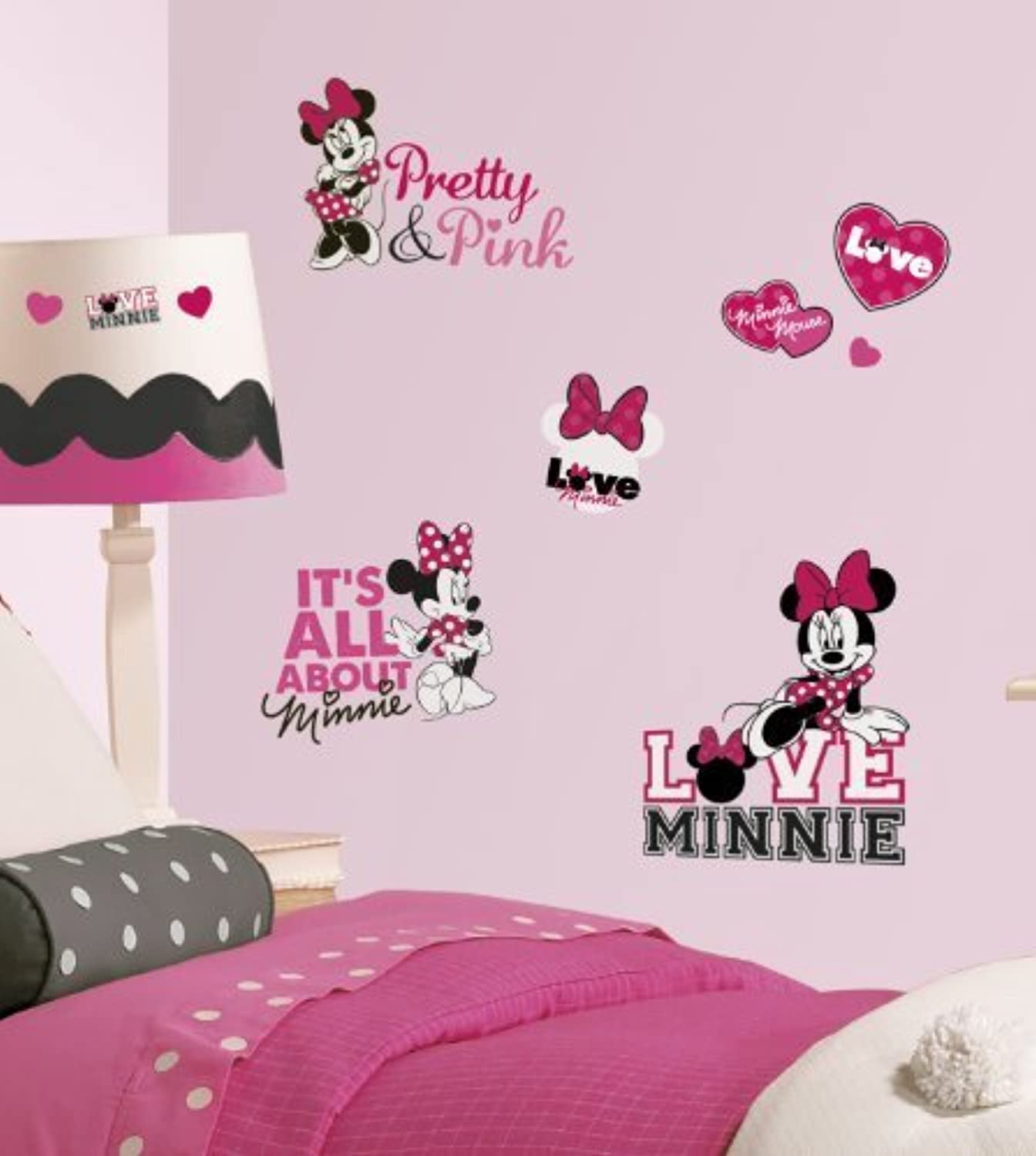 Disney Minnie Mouse壁ステッカー( Parallel import goods ) Roommate