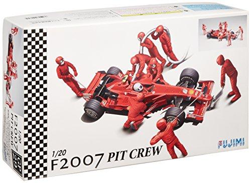 フジミ模型 1/20 グランプリシリーズ No.29 フェラーリF2007 + ピットクルー