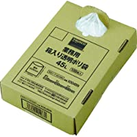 TRUSCO(トラスコ) まとめ買い 業務用ポリ袋 透明・箱入 0.05×45L (100枚入) X0045N
