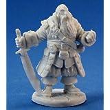 死神ミニチュア77132ボーンズ - Barnabusフロスト、海賊キャプテン