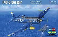 ホビーボス 1/48 F4U-5 コルセア プラモデル
