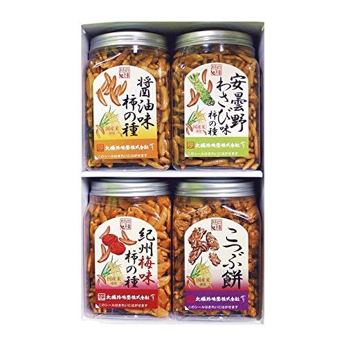 大橋珍味堂 ポット柿の種ギフト4品 【お菓子 米菓 詰め合わせ ギフトセット セット】