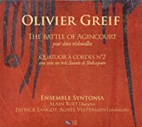 Olivier Grief - Quatuor a Cordes No.2 by Ensemble Syntonia (2010-07-13)