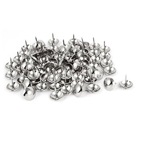 [해외]uxcell 압정 압정 네일 장식 못 돔형 스테인리스 장식 부품 80 개들이/uxcell push pin tuck nail decorative nail dome style stainless steel decorative part 80 pieces