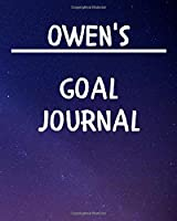 Owen's Goal Journal: 2020 New Year Planner Goal Journal Gift for Owen  / Notebook / Diary / Unique Greeting Card Alternative