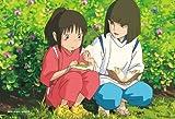 150ピース ジグソーパズル スタジオジブリ シネマart 2ショットシリーズ2 ハクの塩むすび (千と千尋の神隠し) ミニパズル(10x14.7cm)