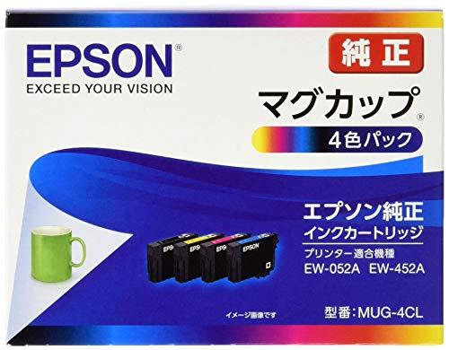 『EPSON 純正インクカートリッジ MUG-4CL 4色パック (目印:マグカップ)』のトップ画像