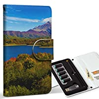 スマコレ ploom TECH プルームテック 専用 レザーケース 手帳型 タバコ ケース カバー 合皮 ケース カバー 収納 プルームケース デザイン 革 風景 景色 写真 009833