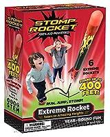 Stomp Rocket Extreme Rocket (Super High Performance), 6 Rockets [並行輸入品]