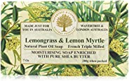 Wavertree & London Moisturising French Triple Milled Lemongrass and Lemon Myrtle Bar Soap,
