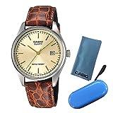 【セット】[カシオ]CASIO 腕時計 MTP-1175E-9AJF [スタンダード]STANDARD メンズ [MTP1175E9AJF]&カシオ用腕時計ケース(1本用ブルー)&シリコンクロス