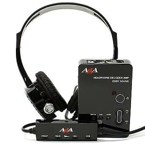 ALLA 5.1chヘッドホン EMOCION ドルビーデジタル/AAC対応 AL-DP100V