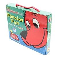 Clifford Phonics Fun Reading Program Pack 1 (12 Books) with CD クリフォードフォニックス・ボックスセット1(CD付き)