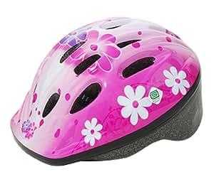 パルミー(PALMY) P-MV12 パルミーキッズ ヘルメット フラワー/ピンク(M22) 154-00042