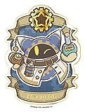 星のカービィ カービィと夢幻の歯車 ゴールドダイカットステッカー (5) マホロア