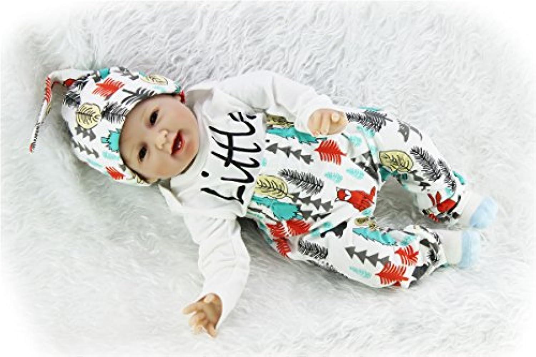 SanyDoll Rebornベビー人形ソフトSilicone 22インチ55 cm磁気Lovely Lifelikeキュートかわいいベビークリスマスギフト