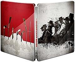 【Amazon.co.jp限定】マグニフィセント・セブン ブルーレイ スチールブック仕様(初回生産限定)(2枚組) [Steelbook](A4 ビジュアルシート付き) [Blu-ray]