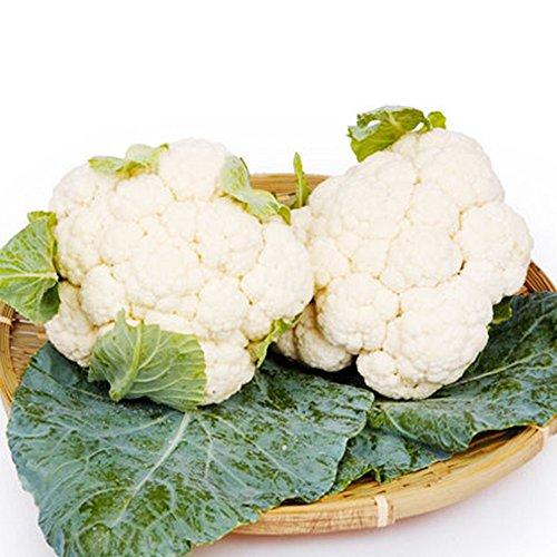 2パックカリフラワーの種有機野菜の種、100個/パック、素晴らしい品質と非常に風味