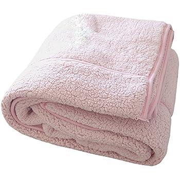 包まれた瞬間からポカポカ 二枚合わせの温もり もこもこ毛布 ピンク クイーン 200x200cm