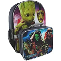 Backpack 16 Guardians of The Galaxy Vol 2 with Lunch Bag