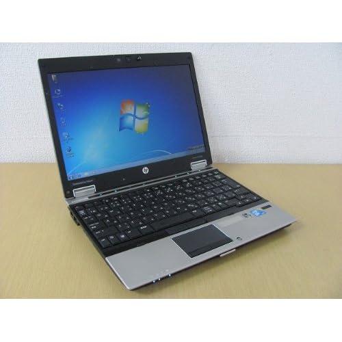 【中古ノートパソコン】hp Elitebook 2540p Core i7 L640/2G/250G/12.1インチワイド液晶/無線LAN/DVDマルチ/リカバリ/Windows7Pro