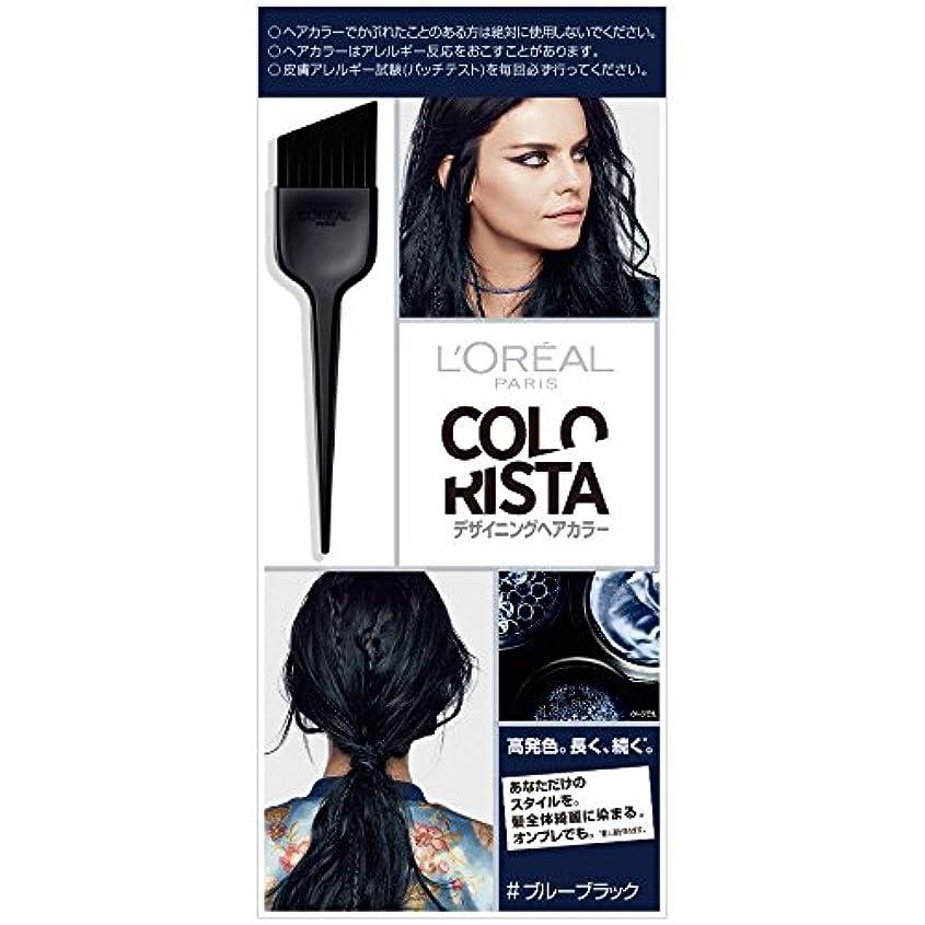 可決軍団会計士ロレアル パリ カラーリスタ デザイニングヘアカラー ブルーブラック