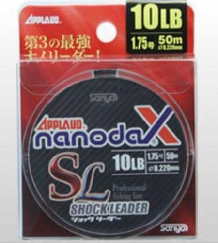 サンヨーナイロン ショックリーダー アプロード ナノダックスリーダー ナノダックス 50m 3.5号 17.5lb アク...