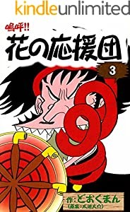 嗚呼!! 花の応援団 3巻 表紙画像