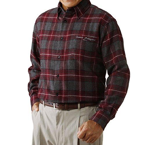(フランコ コレツィオーニ)Franco Collezioni ウール入り暖かシャツ3枚組 41079 41079  マルチカラー LL