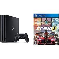 PlayStation 4 Pro ジェット・ブラック 1TB (CUH-7100BB02) + 【PS4】ザ クルー2 【初回生産限定特典】「レジェンダリーモーターパック」ダウンロードコード同梱 セット