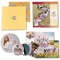 TWICE 3rd Mini Album - TWICECOASTER : LANE 1 [ APRICOT Ver. ] CD + Photobook + Photocards + Sticker + FREE GIFT / K-pop Sealed