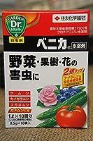 ベニカ水溶剤(0.5g×10袋) 殺虫剤 【資材】【農薬】【薬剤】