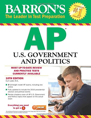 Download Barron's AP U.S. Government and Politics 1438010958