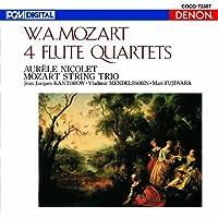 Mozart: 4 Flute Quartets by Aurele Nicolet (2012-06-20)