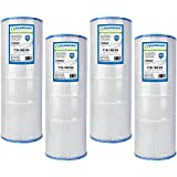 4 Pack Pool Spa Filters - Replace Pleatco PCC80 Unicel C-7470 FC-1976 - Pentair Pac Fab American Guardian Brand