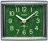 CITIZEN ( シチズン ) 電波 目覚し 時計 ジールR434 見やすい 集光文字板 グレー 4RL434-008