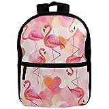adidas 時計 Flamingo School BookバックパックShoulder Bag Schoolbag for Girls Boys