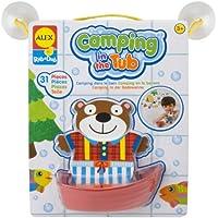 ALEX Toysは、浴槽でダブキャンプをこすります。