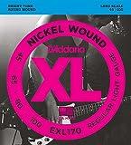 【国内正規品】 D'Addario ダダリオ ベース弦 ニッケル Regular Light(45-100) ロングスケール EXL-170 EXL170
