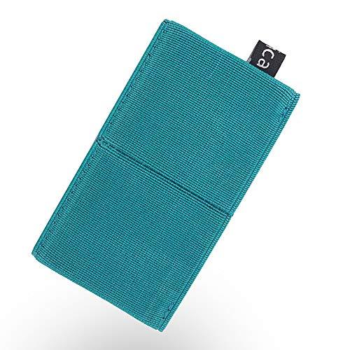 Rasical (ラシカル) 減らす財布 ニルウォレット ミニマリスト向けに作ったコイン、紙幣、カードもこれ一つ ミニウォレット カードケース ゴム 薄型 持ち運び便利 薄型 アウトドア ジョギング 旅行 男女兼用 小さい財布 (グリーン)