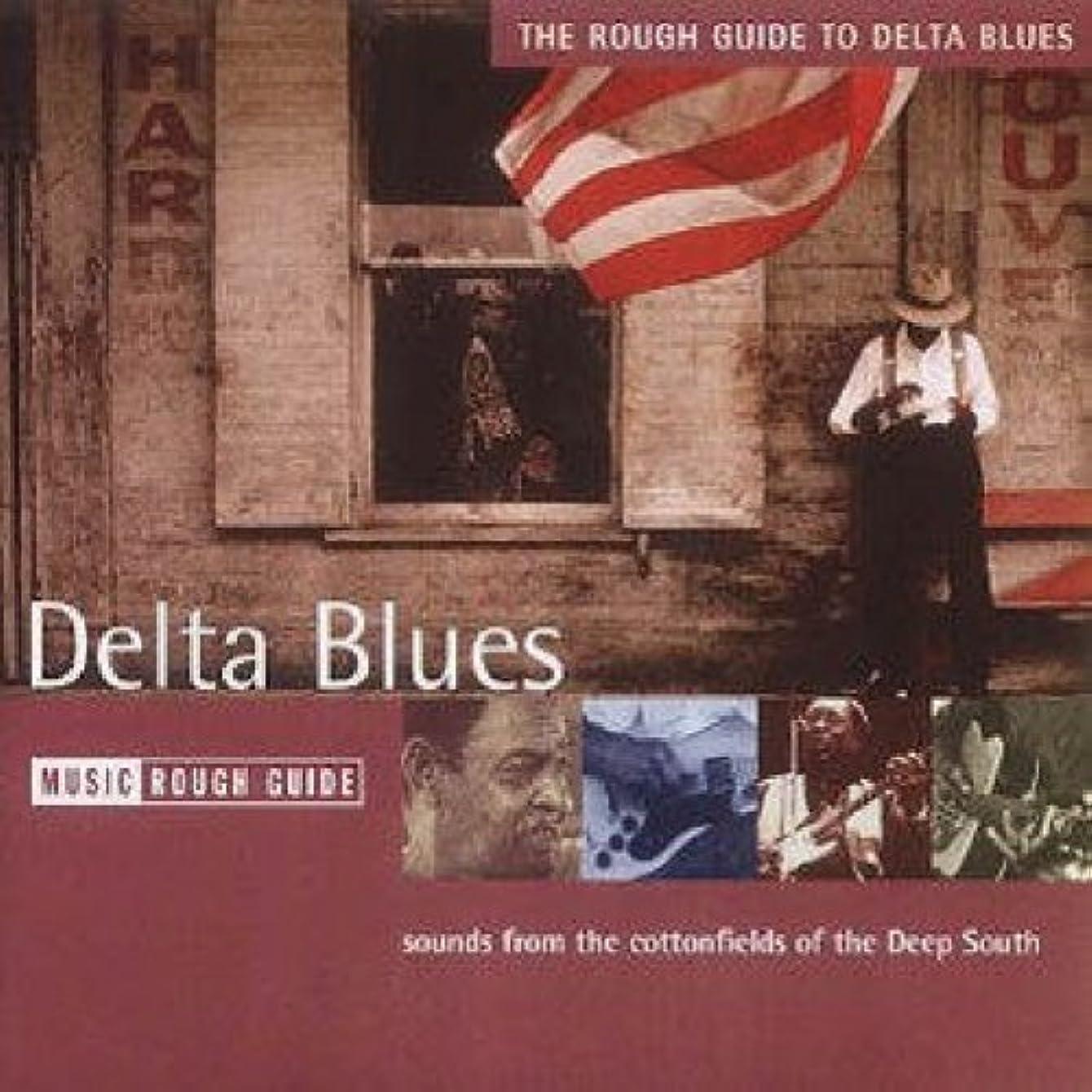 ノベルティ登録表面的なThe Rough Guide to The Delta Blues (Rough Guide World Music CDs)