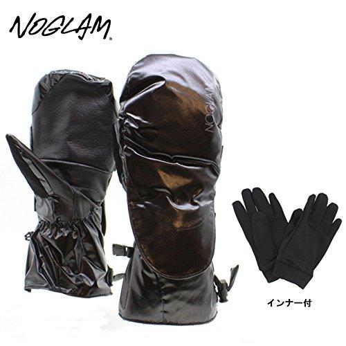 (ノーグラム)NOGLAM 2015年モデルnog-112 グローブ THE MOUNTAIN II MITTEN/BLACK SHINY 日本正規品 ミトン M