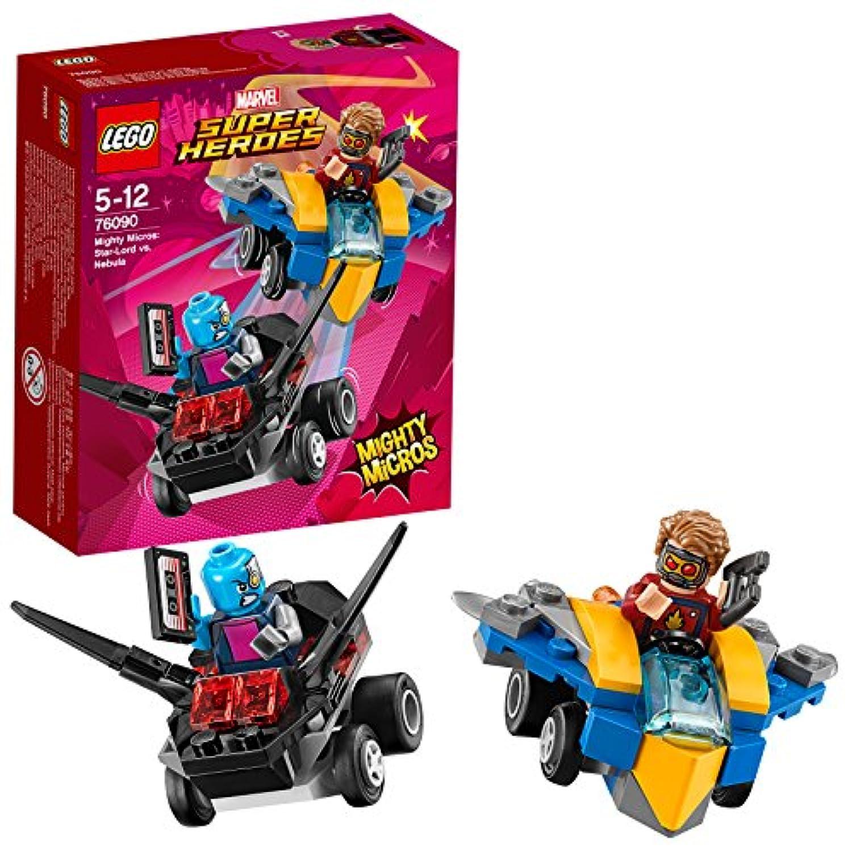 レゴ(LEGO) スーパー?ヒーローズ マイティマイクロ:スター?ロード vs. ネビュラ 76090