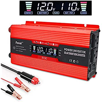 Photovoltaik-zubehör 500w Dc To Ac Power Converter Dc 12v To 110v 220v Ac Car Inverter With Dual Vd Reputation First Wechselrichter