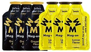 Mag-on マグオン エナジージェル グレープフルーツ3個 新味レモン3個 計6個セット