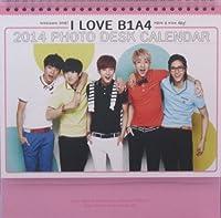 B1A4 2014年 卓上カレンダー 【日本祝日仕様】