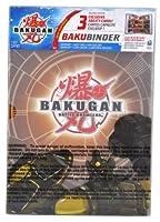 "Cartoon Network Tv Series ""Bakugan Battle Brawler"" Cards Holder - Subterra Brown Bakubinder with 4 Ability Cards (3"