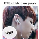 BTS スタイル Matthew ピアス  bts アクセサリー barbell タイプ