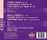 ブラームス:弦楽五重奏曲 ト長調 (弦楽オーケストラ編)/シェーンベルク:浄められた夜(弦楽オーケストラ版)